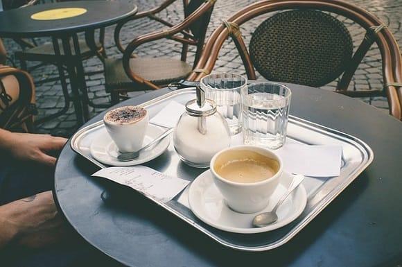 Rom Städtereise - Cafe in Rom
