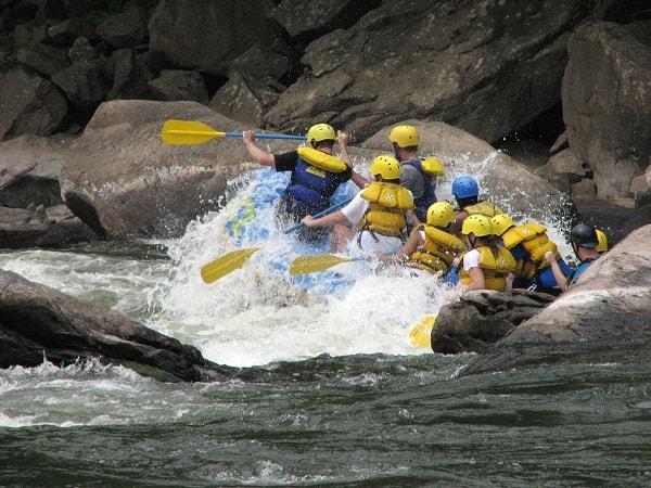 Wassersport Reise