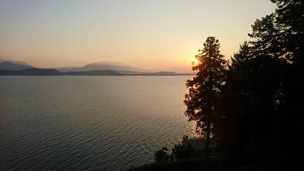 Sonnenaufgang Lago Maggiore